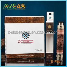 original manufacturer carved wood x fire e cigarette skull pipe e fire vaporizer pen