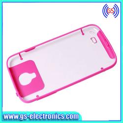 High Quality Transparent Plastic Case for Samsung I9500 S4
