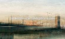 dipinti ad olio a mano impressione paesaggio strada dim