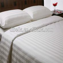 100% cotton hotel bedding Damask stripe style of 280cm width