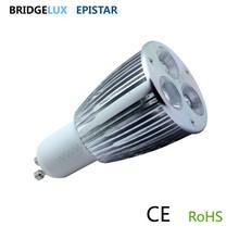 3*2w 6w gu10 led spot bulb 220V