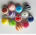 popular de color personalizado de bricolaje cuentas de plástico