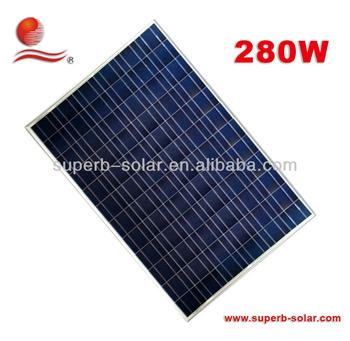 cheap price per watt solar panels 280w