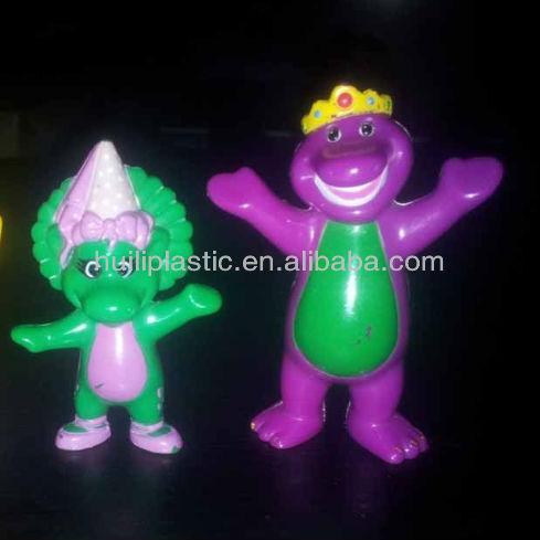 """Personnalisé jouets en plastique 3"""" barney bébé bop bj figurines en plasti Fabrication Les fabricants, fournisseurs, exportateurs, grossistes"""