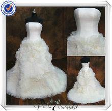 JJ0059 Ball Gown Hand Made Flower Zuhair Murad Wedding Dresses