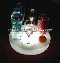 led display wine glass holder tray led tray