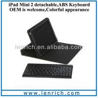 LBK120 For iPad mini Retina Display Ultra Thin Folio Bluetooth Keyboard for iPad mini 2