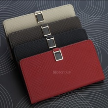 China wholesale crown purse leather cover for samsung galaxy note 3 pocket