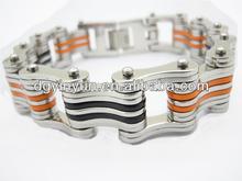 2014 cheap custom damascus steel jewelry bracelet