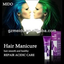 MIDO hair color wholesale hair gel colorful hair black gel