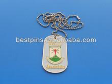 Ghana Africa United dog tag, metal engraved ID tag chain school emblem dog tag