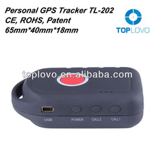 Factory mini gps phone tracking TL-202, phone tracker gps for person/pet, gps tracking system with online software