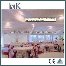RK Deluxe Custom Wedding Pipe And Drape Fashion Design Type