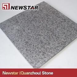 China g684 granite flamed+Brushed Tile