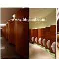 de acero inoxidable de formica madera partición wc urinario