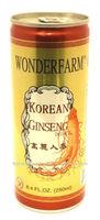 WONDERFARM KOREAN GINSENG DRINK CAN 240ML/GINSENG DRINKS/CANNED SOFT DRINKS