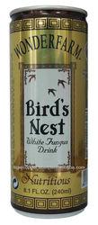 WONDERFARM BIRDS NEST WHITE FUNGUS DRINK CAN 240ML/BIRDS NEST DRINKS/CANNED SOFT DRINKS
