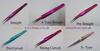 Different type of eyelash extension tweezers x tweezers curved tweezers angle tweezers