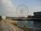 65m Hydraulic wheel park rides train