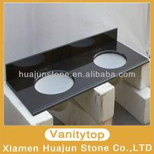 Absolute Black Composite Stone Vanity Top