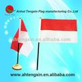 Escritorio/bandera de mesa, la bandera de indonesia, la bandera de mónaco
