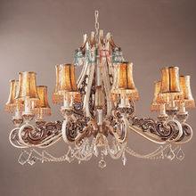 UL acrylic beaded ceiling lighting chandelier