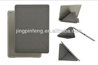 Slim leather case for ipad Air, origami case for ipad Air with top quality