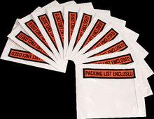 self adhesive clear waterproof document envelope