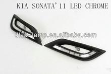 CAR LED FOG CHROME LIGHTS FOR SONATA'11