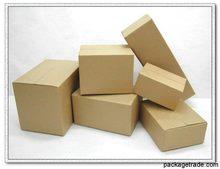 kraft paper square box