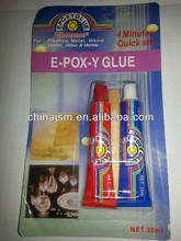 E-POX-Y Glue , 30ml AB Glue , For Plastic/metal /Wood /Glass /Marble