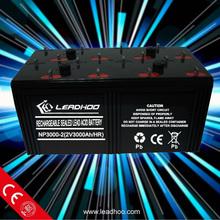 Long Life Solar Battery 2v 3000ah