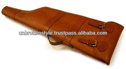 leather gun bag/leather gun cover/leather gun case