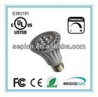 ul cul led light bulb par20, par30, par38, br20, br30, br40 dimmable 110v