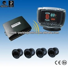 Competitive price wireless car parking sensor system with VFD display
