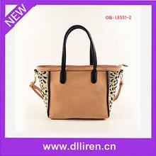 women quality pu small business handbag handicraft