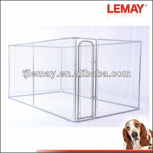 7.5x13x6ft Large outdoor stainless steel pet cage