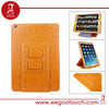 Business Style Wallet Standing 360 degree rotation leather case for ipad air new