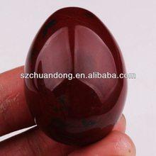 Natural Red Jasper Easter Egg decoration