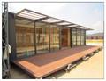 Pré-fabricada modificado sea shipping container casa à venda