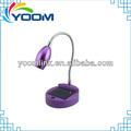 Cuello flexible ymc-l06r cable usb nuevo operado de la batería recargable de luz de estudio de la biblia