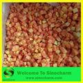 exportación iqf y frutas congeladas rápida de papaya