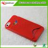 Wholesale promotion plastic card slot PC case for iPhone 5/5S back case