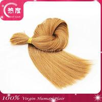 2014 super cheap Russian bulk human hair made in China & wholesale alibaba express