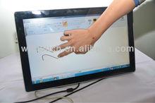 Multi touch capacitive screen desktop monitor/ HDMI, VGA, USB, RS232