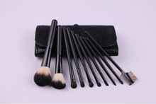 black nylon hair 10 pieces brushess cosmetics in nepal