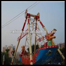 fascinating amusement park model pirate ship