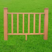 outdoor landscape wood plastic composite WPC decorative garden fence