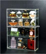 Acrylic Display box with sliding door for Miniature Perfume bottles