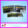Nice ISO 7810 Standard Size barcode scanner sim card